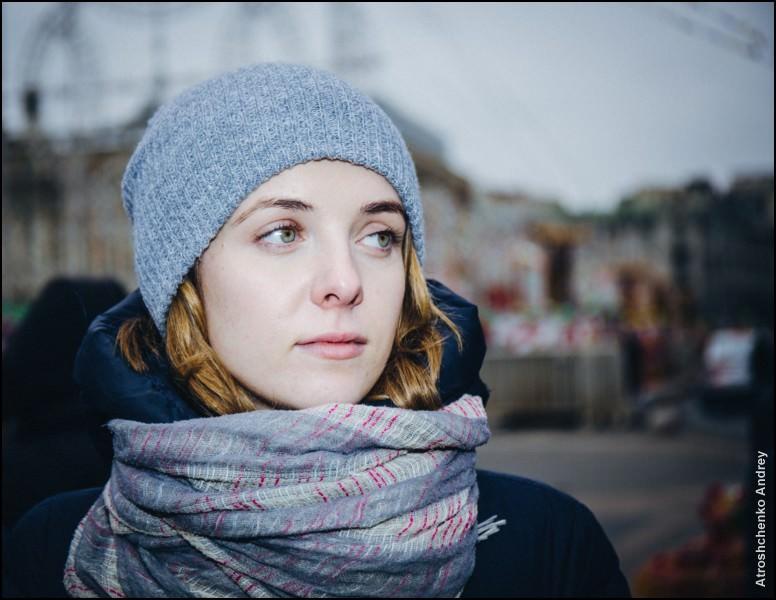 портреты москвичей - даша